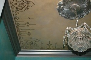 Embellished Stenciling Ceilings Stencil Search