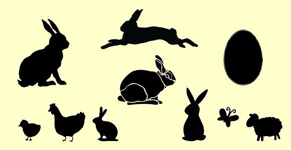 Free Easter Stencils