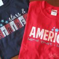 Patriotic Stenciling Tutorials