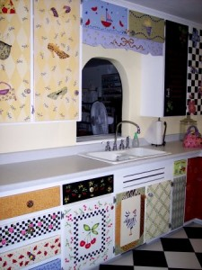 Stencilled Kitchen