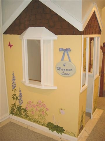 Playhouse with Faux Shingles