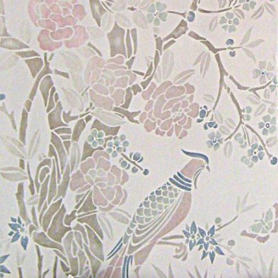 Stencil Library: Chinoserie with Crystals 2