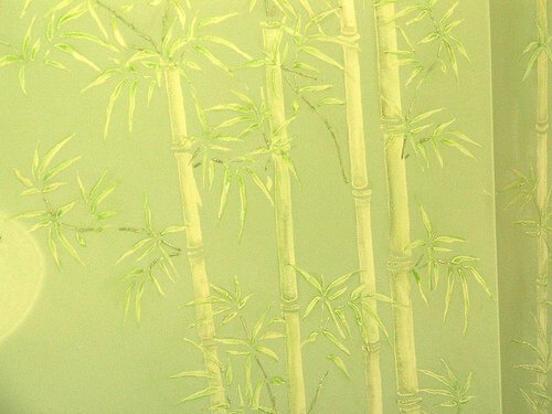 Bamboo Wall by Donna Revens