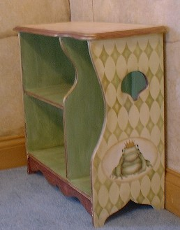 Stenciled Night Stand