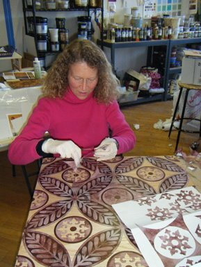 Faux Marquetry Play Day