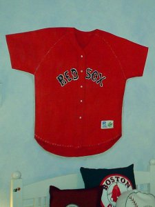 Red Baseball Shirt