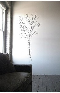 Stenciled Tree