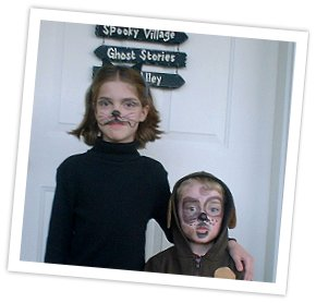 Face Painting: Cat and Dog