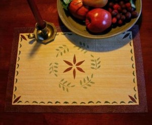 Canvasworks Wreath Placemat