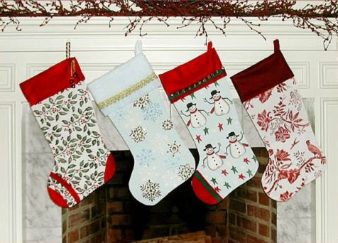 Yowler & Shepps: Stenciled Christmas Stockings