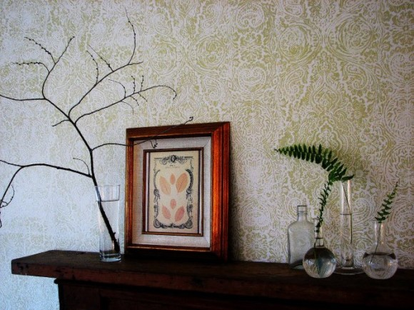 Pure Style Home: Wallpaper Stenciling