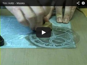 Reverse Stenciling with Masks