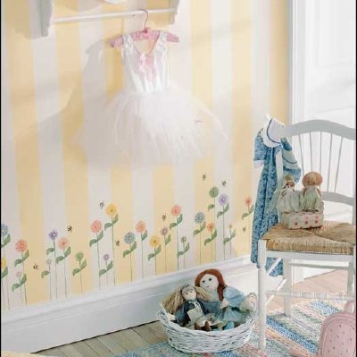 Free Stencil Patterns for Kids' Rooms