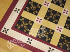 Moroccan Tiles Floorcloth
