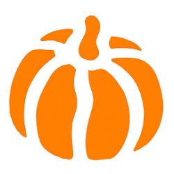 Free Pumpkin Stencil from The Graphics Fairy