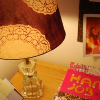Stenciling with Doilies 2: Home Decor
