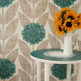 Stenciling with Doilies 4: Furniture