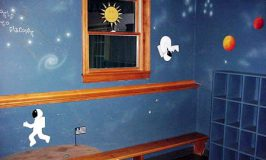 Outer Space Bedroom Murals