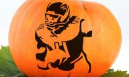 Falcons Pumpkin Stencils
