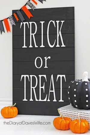 Trick-or-Treat-Sign