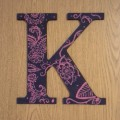 Painted K