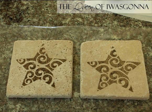 The Queen of Iwasgonna: Tile Coasters