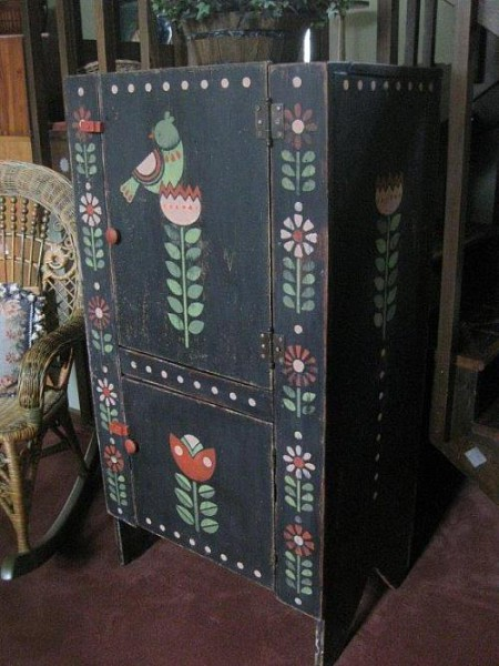 Primitive Cabinet Project by DecoArt