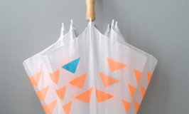 10 DIY Painted & Stenciled Umbrellas for Spring